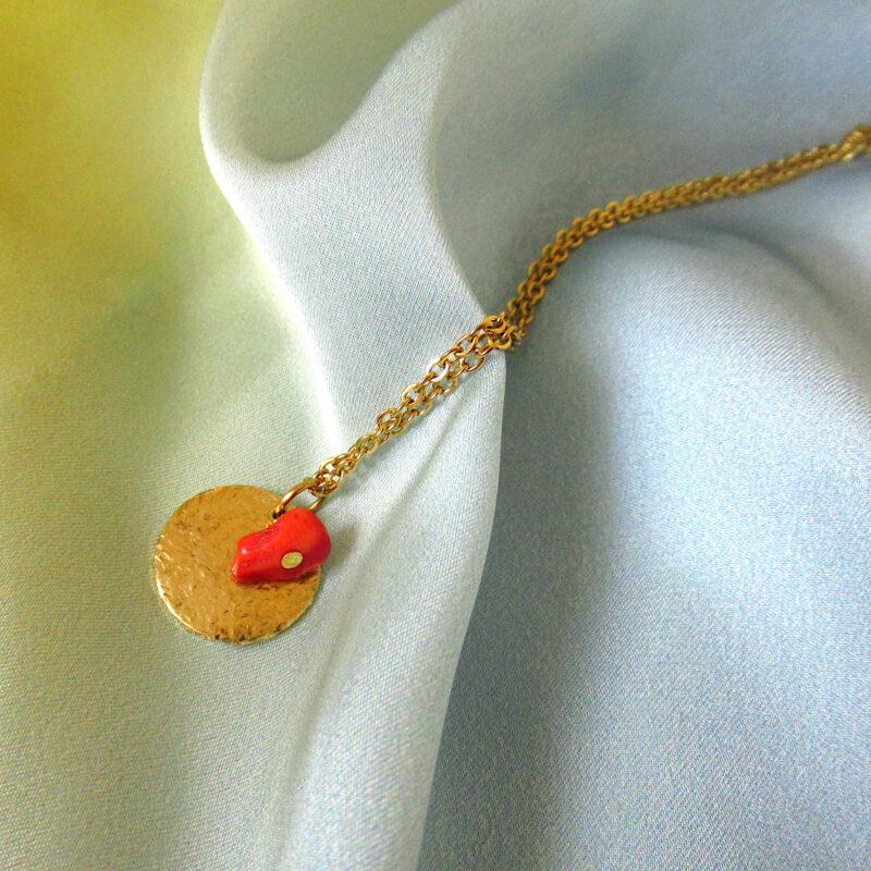 Laridae Design - Mjedena ogrlica LISA